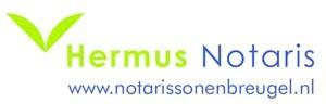 logo hermus notaris met website